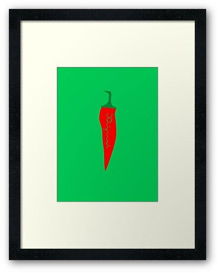 Capsaicin Chilli by MangaKid