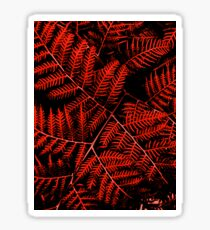 Flaming Bracken Sticker