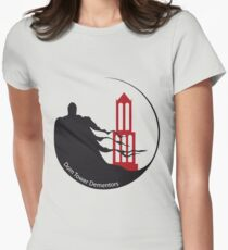 Dom Tower Dementors Quidditch Womens Fitted T-Shirt