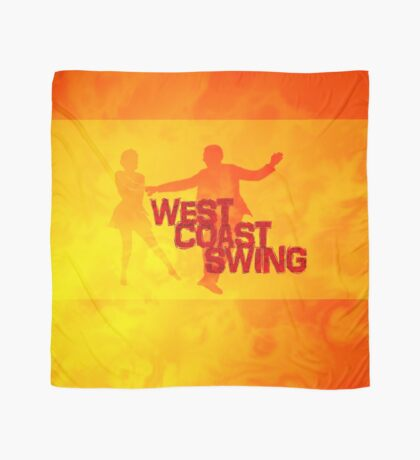West Coast swing Scarf