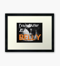 Peanutbutter Jelly Belly - Family Guy Framed Print
