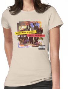 Grand Puba - Reel to Reel Womens Fitted T-Shirt