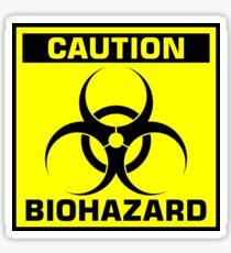 Pegatina Biohazard