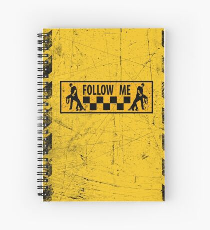 follow me dancer - used look Spiral Notebook