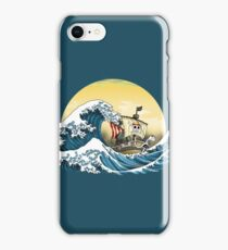 Going Merry by Hokusai iPhone Case/Skin