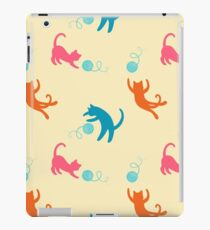 Playing cats iPad Case/Skin