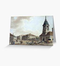 Malton Thomas Elder - Foundry Avenue Greeting Card