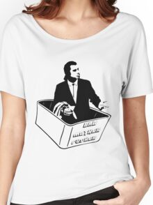 Pulp Fiction Vincent Vega Confused No Money Wallet Women's Relaxed Fit T-Shirt