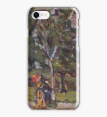 Maurice Brazil Prendergast (American, ), Sunday Afternoon iPhone Case/Skin