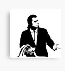 Pulp Fiction Vincent Vega Confused Canvas Print