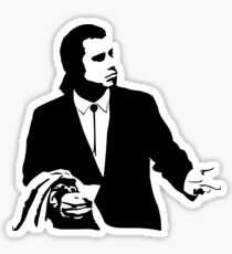 Pulp Fiction Vincent Vega Confused Sticker