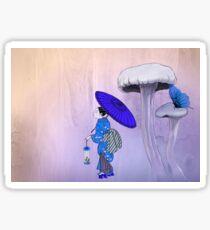 Geisha Style Sticker