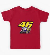 Valentino Rossi baby supporter Kids Tee
