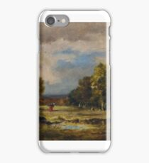 Narcisse Virgile Diaz de la Pena (), and Mare Glade vipers, Forest of Fontainebleau, iPhone Case/Skin