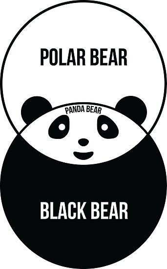 Panda bear venn diagram posters by offensivefun redbubble panda bear venn diagram by offensivefun ccuart Images