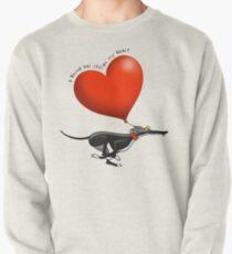 Stolen Heart - black hound Pullover