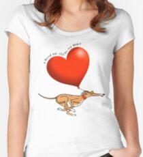 Camiseta entallada de cuello redondo Corazón robado - sabueso atigrado