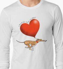 Stolen Heart - brindle hound Long Sleeve T-Shirt