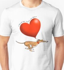 Stolen Heart - brindle hound T-Shirt