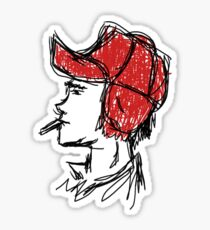 Holden Caulfield  Sticker