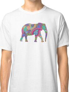 Paisley Elephant Classic T-Shirt