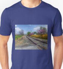 Springtime Along The Tracks T-Shirt