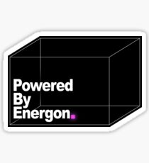 Powered By Energon Sticker