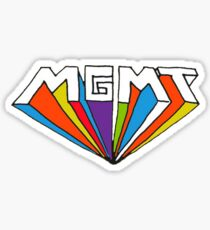MGMT logo Sticker