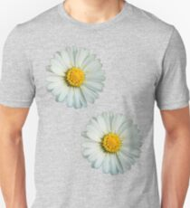 Two white daisies Unisex T-Shirt