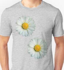 Two white daisies Unisex T-Shirt