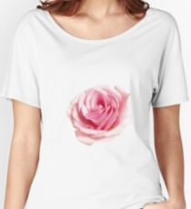 Pink rose Women's Relaxed Fit T-Shirt