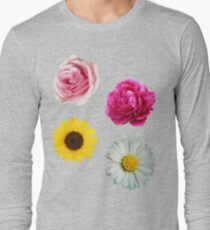 Flowers Set Long Sleeve T-Shirt