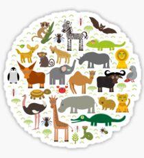 African animals Sticker
