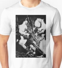 Warrior Tree in nanquim ink T-Shirt