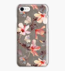 Coral Hibiscus iPhone Case/Skin