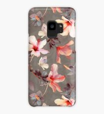 Coral Hibiscus Case/Skin for Samsung Galaxy