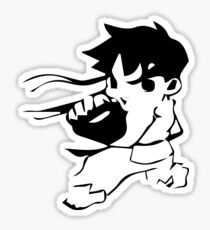 chibi Ryu Sticker