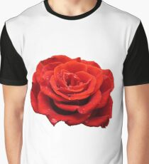 Red Rose Graphic T-Shirt