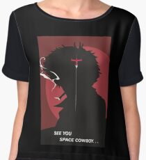 See You Space Cowboy - Spike Women's Chiffon Top