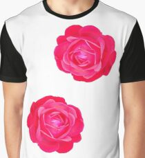 Two pink roses Graphic T-Shirt
