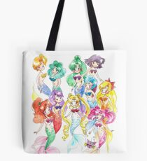 Mer Scouts - Inner and Outer Mer Senshi Tote Bag