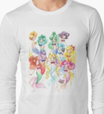 Mer Scouts - Inner and Outer Mer Senshi Long Sleeve T-Shirt