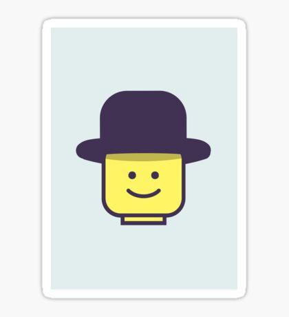 Mr Legoman Sticker