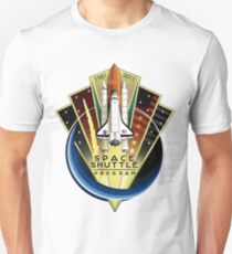Shuttle Program Commemorative Patch T-Shirt