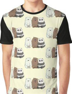 Cute Bare Bear Graphic T-Shirt