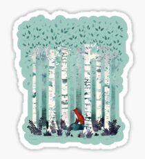 The Birches Sticker