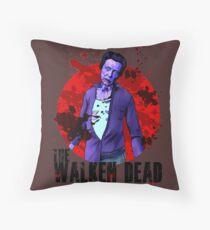 Walken Dead Zombie Throw Pillow