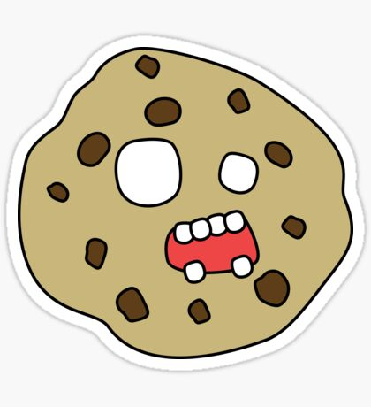 zombie cookie Sticker