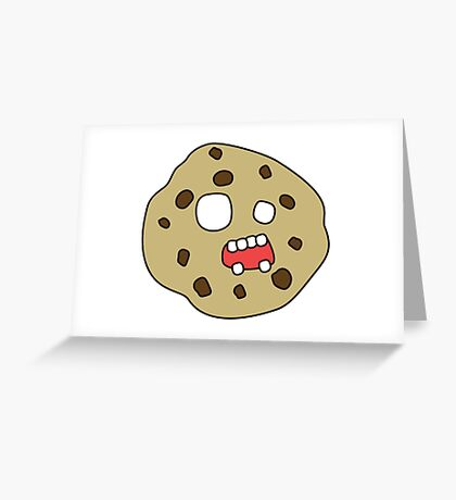 zombie cookie Greeting Card