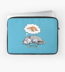 Kitteh dreams of sushi Laptop Sleeve